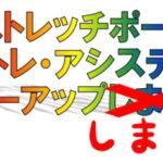 【ストレッチポール・ひめトレ・アシスティック フォローアップ!】